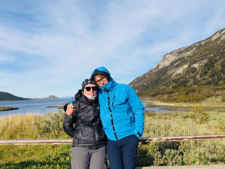 Devant la baie Lapataia - Parc National Tierra de Fuego - Argentine - Parc National Tierra de Fuego - Argentine