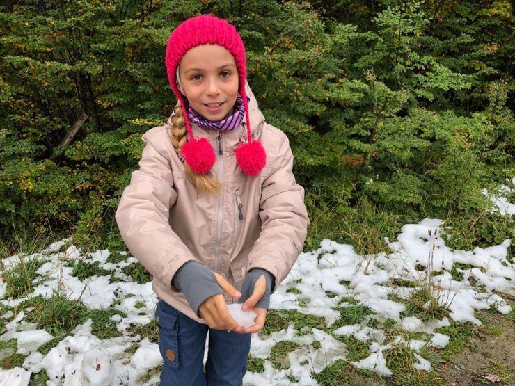 Eden a touché la neige ! - Terre de Feu - Argentine