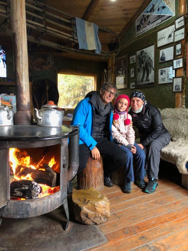 Après le chien de traineau, un petit café bien chaud- Elevage Siberianos de Fuego - Terre de Feu - Argentine