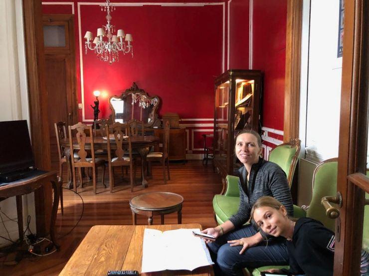 En attendant les cousins, chez Hugo del Carril - Buenos Aires - Argentine