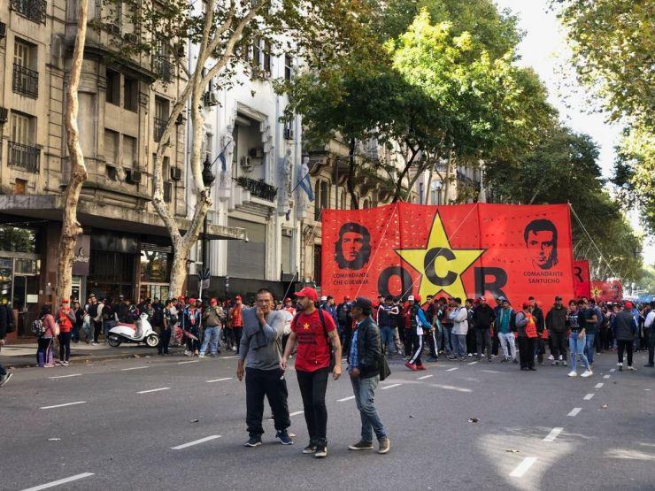 Manifestations dans Buenos Aires. Vive le Che ! - Argentine