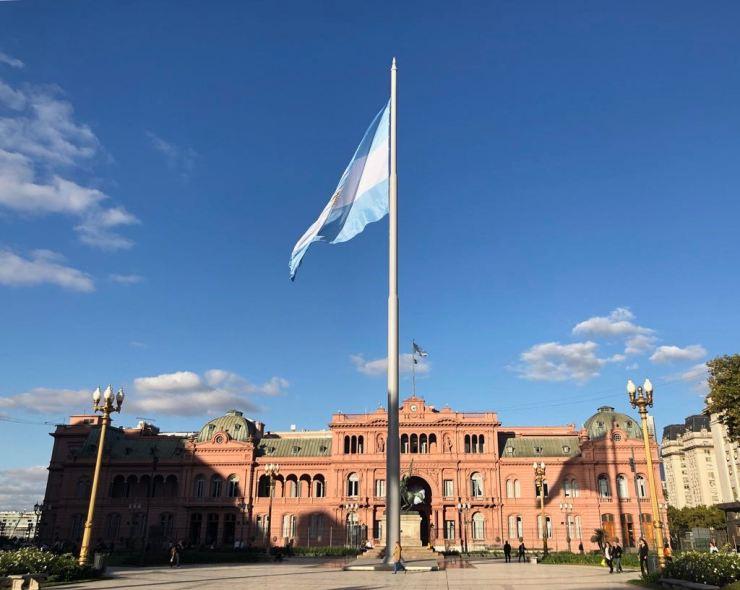 Casa Rosa - Plaza de Mayo - Buenos Aires - argentine