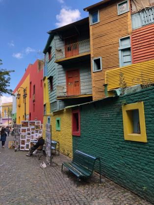 Caminito - Quartier la Boca - Buenos Aires - Argentine