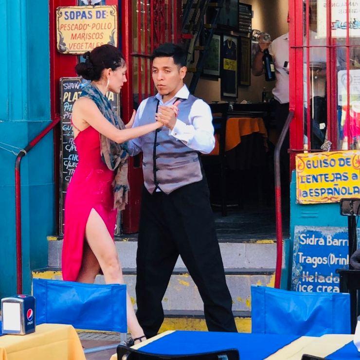 Aux sources du Tango - Quartier de la Boca - Buenos Aires - Argentine