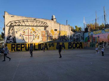 Republica de la Boca ! Le foot comme religion - Quartier de la Boca - Buenos Aires - Argentine