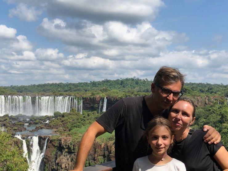 Photo de famille - Iguazu - Brésil