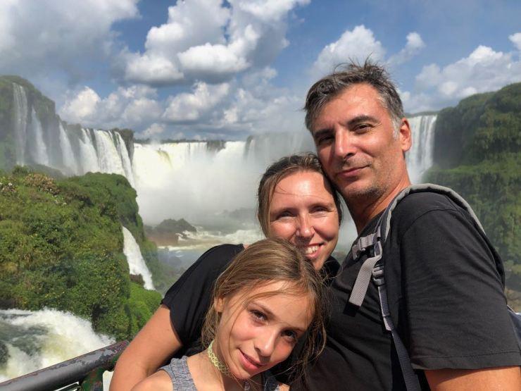 Pas fastoche cette photo pour être seuls dessus - Vue sur la garganta del Diablo - Chutes d'Iguazu depuis les passerelles côté Brésil