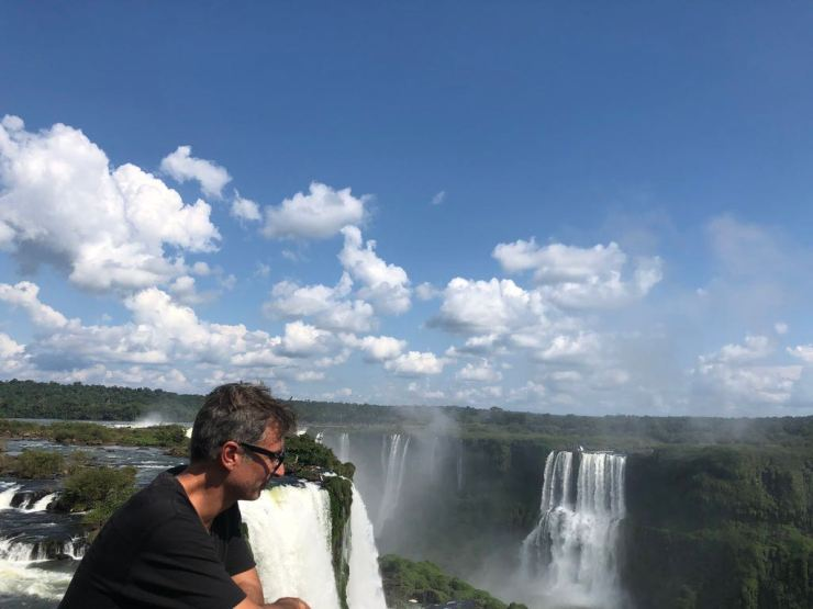 Chutes d'Iguazu depuis le sentier supérieur côté Argentine
