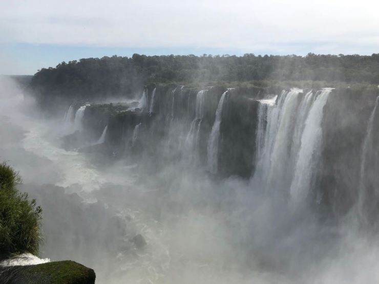 Depuis la Garganta del Diablo, Chutes d'Iguazu côté Argentine