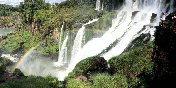 Salto Bossetti - Arc en Ciel - Sentier Inférieur - Chutes d'Iguazu côté Argentine