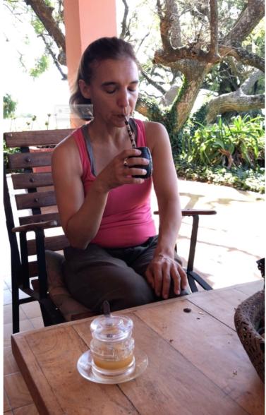 Comment boire le maté par Milena - Pampa - Argentine