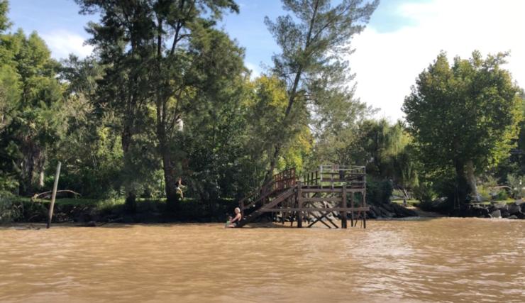 Petite baignade - Tigre - Argentine