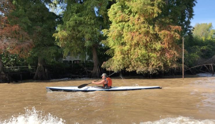 Les canaux en kayak - Tigre - Argentine