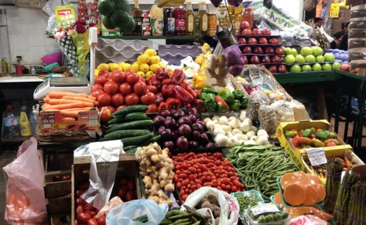 Fruits et légumes - Marché de San Telmo - Buenos Aires - Argentine