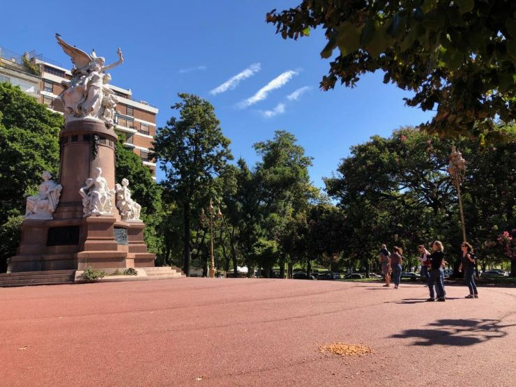 Plaza Francia - Recoleta - Buenos Aires - Argentine