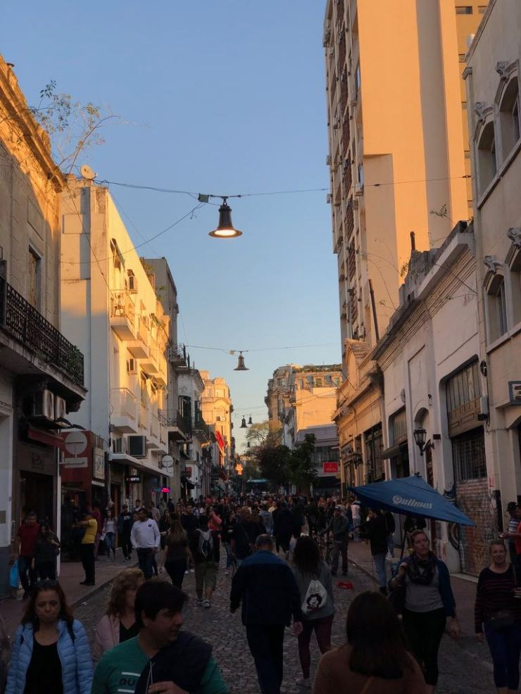 Dans les rues de San Telmo - Buenos Aires - Argentine