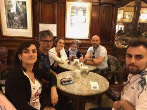 Dans le Café Tortoni - Buenos Aires - Argentine
