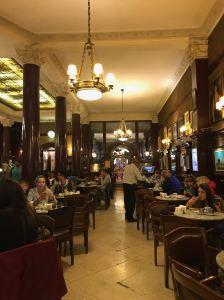 Intérieur du Café Tortoni - Buenos Aires - Argentine
