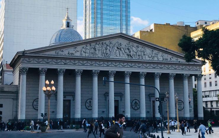 Cathédrale - Plaza de Mayo - Buenos Aires - Argentine