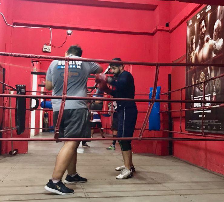 Entrainement de boxe - Buenos Aires - Argentine