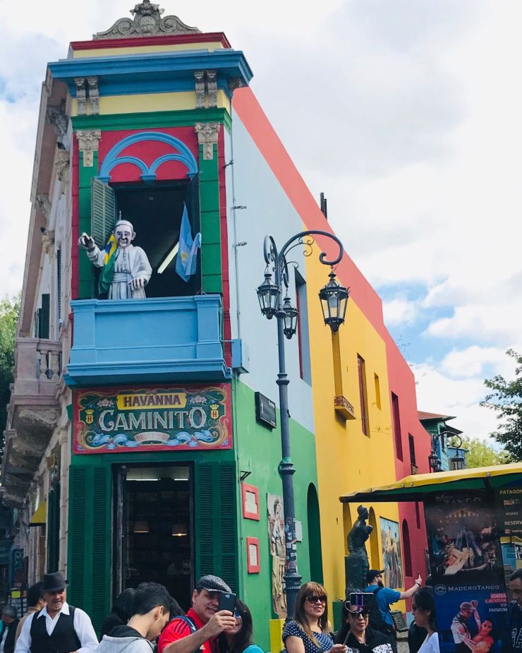 Début de Caminito - Quartier de la Boca - Buenos Aires - Argentine