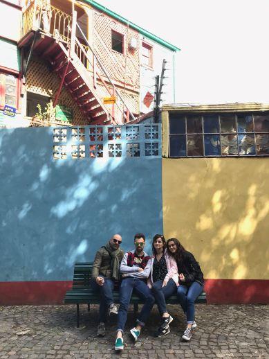 Photo de famille - Quartier de la Boca - Buenos Aires - Argentine