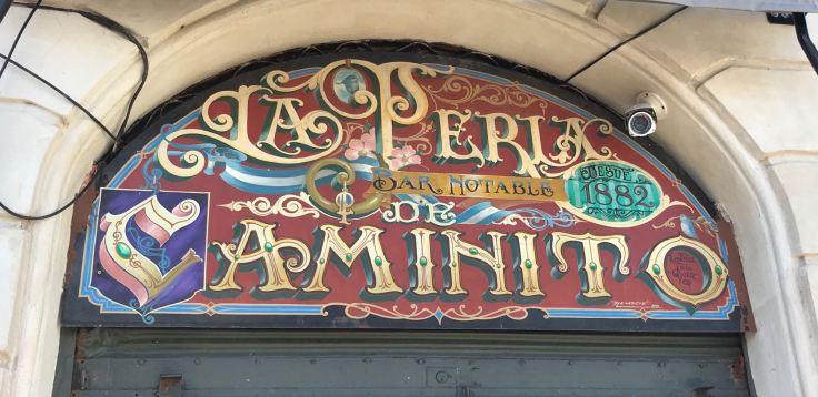 Restaurant La Perla - Quartier de la Boca - Buenos Aires - Argentine