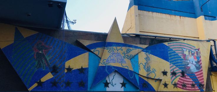 La Bombonera - Le stade des Boca Junior - Quartier de la Boca - Buenos Aires - Argentine