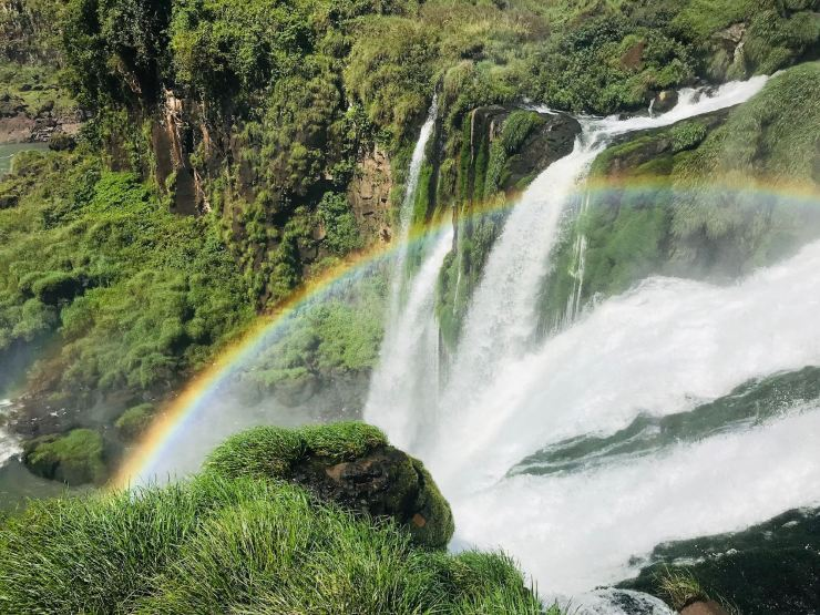 Les chutes d'Iguazu depuis le sendero superior - Côté Argentine