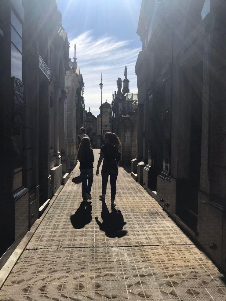 Les cousines - Cimetière de Recoleta - Buenos Aires - Argentine