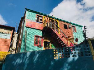 Caminito dans le quartier de La Boca - Buenos Aires - Argentine