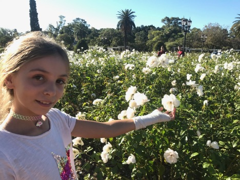 Eden dans la roseraie - Patio Andalu - Buenos Aires - Argentine
