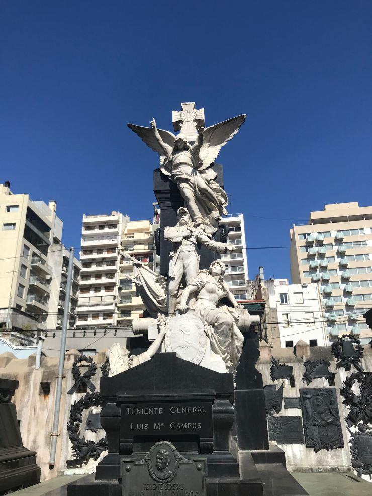 Dans le cimetière de Recoleta - Buenos Aires - Argentine