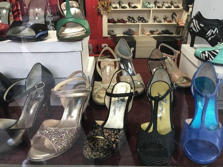 Chaussures de Tango - Buenos Aires - Argentine