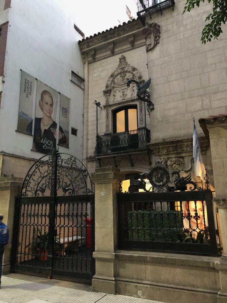 Le musée Evita Peron - Buenos Aires - Argentine