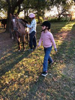 Petite cavalière - Pampa - Argentine