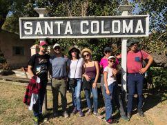 Toute la bande à Santa Coloma - Pampa - Argentine