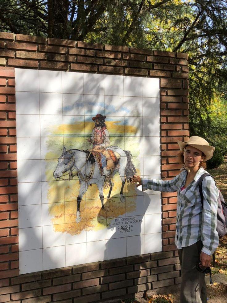 Milena nous explique tout sur les gauchos - Pampa - Argentine