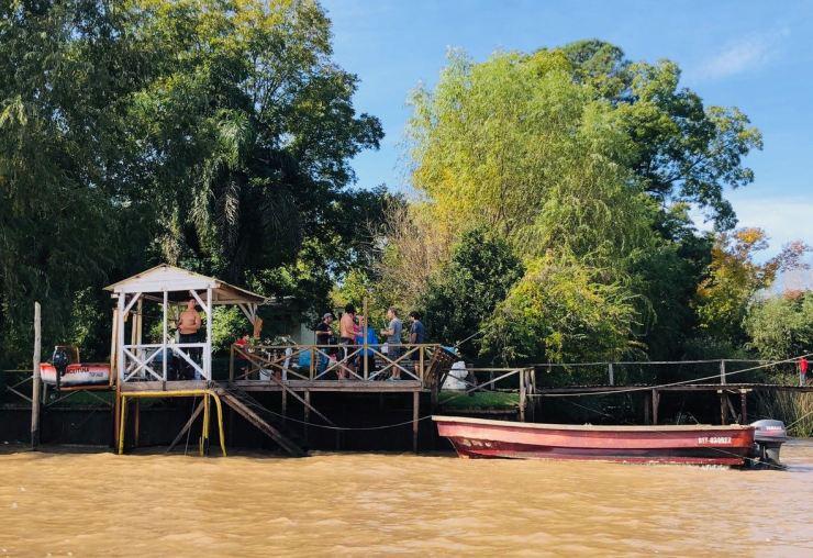 La vie sur les pontons - Tigre - Argentine