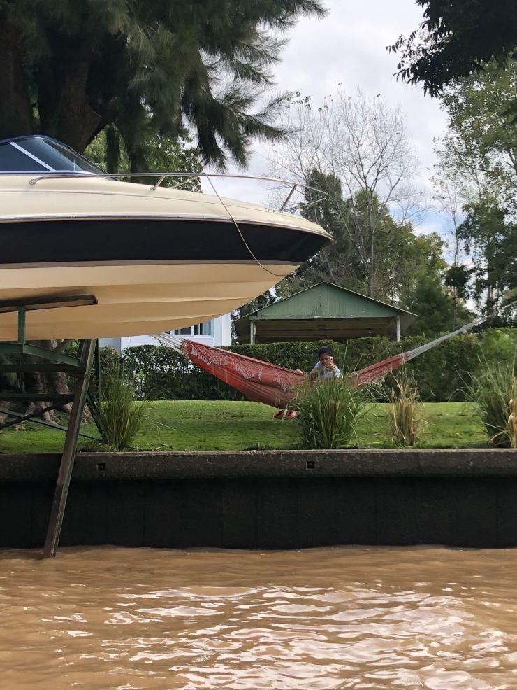 Maison, hamac, bateau - Tigre - Argentine