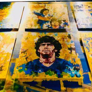 Dios Maradona ! - Museo del Estadio - Quartier la Boca - Buenos Aires - Argentine