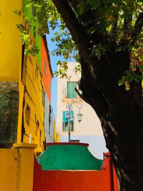 Quartier la Boca - Buenos Aires - Argentine