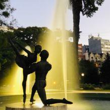 Poésie - Sculpture - Plaza Lavalle - Buenos Aires