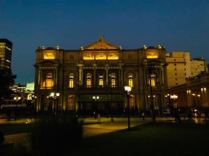 Teatro Colon - Plaza Lavalle - Buenos Aires