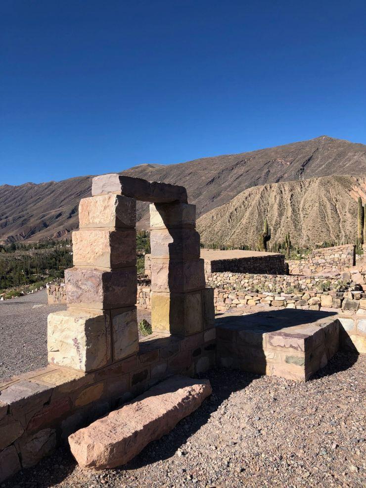 Porte - Pucara de Tilcara - Nordeste - Argentine