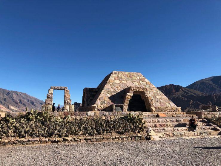El Monumento - Pucara de Tilcara - Nordeste - Argentine