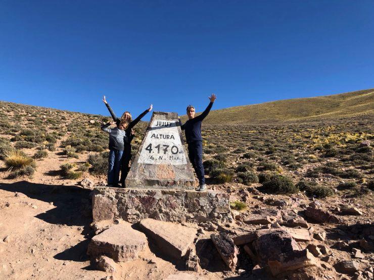 Col de Petrorillos, 4170 mètres - Nordeste - Argentine