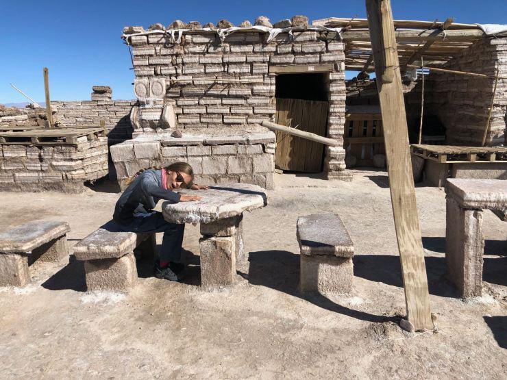 Bar en sel - Salinas grandes - Nordeste - Argentine