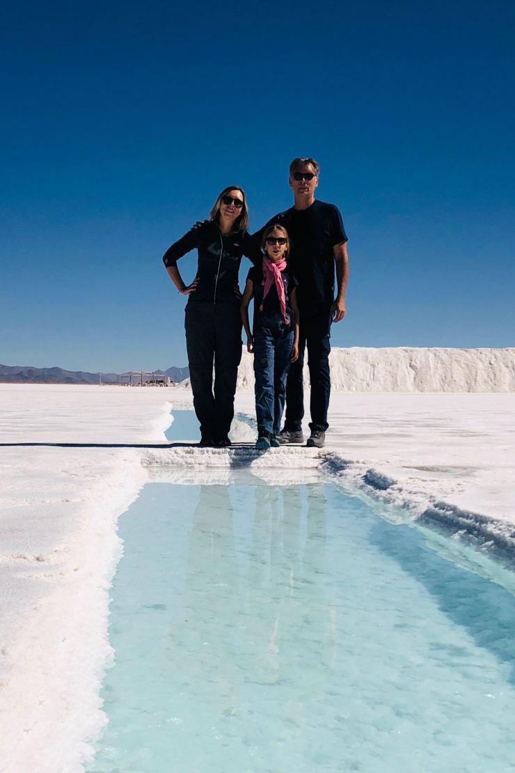 Photo de famille - Salinas Grandes - Nordeste - Argentine