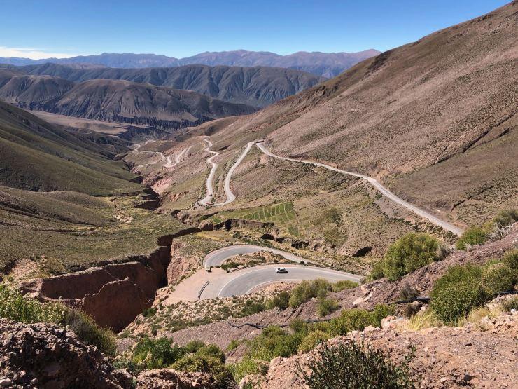Et la route monte, monte - Ruta 52 - Nordeste - Argentine